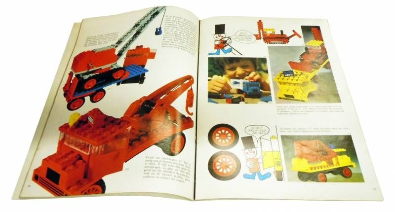 Lego Ref.220 - \'\'Let\'s Play with Lego\'\' - Play Book