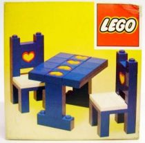 Lego Ref.275 - Table and Chairs