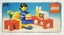 Lego Ref.278 - TV Room