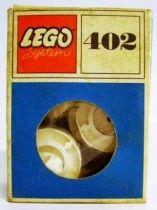 Lego Ref.402 - White Turntable