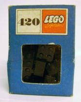 Lego Ref.420 - 2x2 Black Bricks