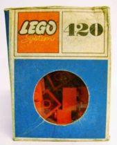Lego Ref.420 - 2x2 Red Bricks