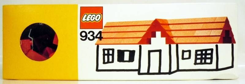 Lego Ref.934 - Red Roof Bricks