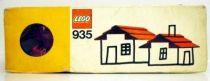 Lego Ref.935 - Red Roof Bricks