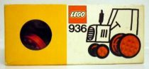 Lego Ref.936 - Large and Small Wheels