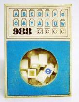 Lego Ref.988 - Alphabet Bricks