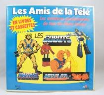 Les Amis de la Télé - Coffret Livrets & Cassettes - AB Production - Maitre de l\'Univers, She-Ra & Gobots