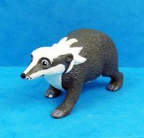 Les Animaux du Bois de Quat\'sous - Figurine PVC Hornby - Blaireau