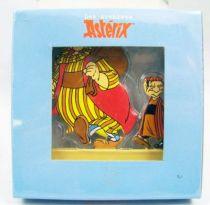 Les Archives d\'Asterix - Atlas - Figurines Métal n°26 - Obélix et Goscinny