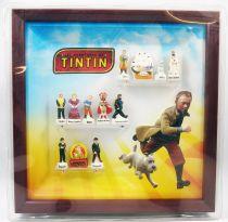 Les Aventures de Tintin - Coffret de 12 fèves en porcelaine