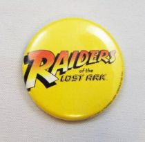 Les Aventuriers de l\'Arche Perdue (Raiders of the Lost Ark) - Badge Promotionnel