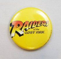 Les Aventuriers de l\'Arche Perdue (Raiders of the Lost Ark) - Badge Promotionnel