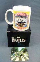 Les Beatles - Mug Céramique & Sous-Verre - Magical Mystery Tour 01
