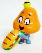 Les Champignoux - Figurine PVC Michel Oks 1984 - Champignou avec sandwich