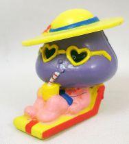 Les Champignoux - Figurine PVC Michel Oks 1984 - Champignou bain de soleil