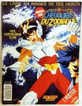 Les Chevaliers du Zodiaque - Collecteur de vignettes SFC 1990 (vierge)