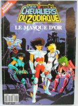 Les Chevaliers du Zodiaque N°6 : Le masque d\'or - Bande Dessinée AB Productions