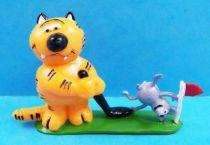 Les Entrechats - Figurine PVC Yolanda - Isidore avec souris #1
