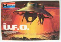 Les Envahisseurs - Modèle réduit OVNI (U.F.O.) 1-72ème - Monogram 01