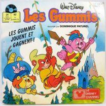 Les Gummis - Livre-Disque 45t Le Petit Menestrel - Les Gummis jouent et gagnent - Ades 1986