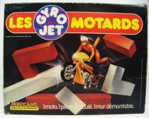 Les Gyro Jets Motards - Meccano - La Moto et le Mur 01