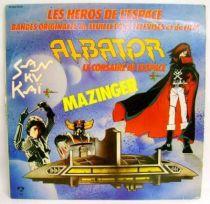 Les Héros de l\'espace (TV Series & Movie original soundtracks) - Record LP - Pathé Marconi/EMI 1980