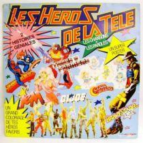 Les Héros de la Télé - Record LP - CBS Disques 1987