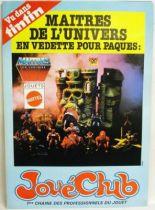 Les Maitres de l\'Univers - Affiche promotionnelle Jouéclub 1983