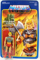 Les Maitres de l\'Univers - Figurine 10cm Super7 - Battle Armor He-Man