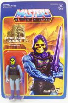 Les Maitres de l\'Univers - Figurine 10cm Super7 - Battle Armor Skeletor