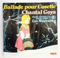 Les Misérables (Bande Originale) - Disques 45Tours - Ballade de Cosette (Chantal Goya) - RCA Records 1981