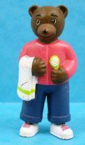 Les mondes de Petit Ours Brun - Figurine PVC Bayard Presse - Papa Ours Brun et la brosse � dents