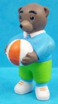 Les mondes de Petit Ours Brun - Figurine PVC Bayard Presse - Petit Ours Brun et son ballon