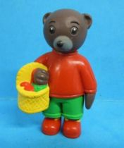 Les mondes de Petit Ours Brun - Bayard Presse PVC Figure - Petit Ours Brun and his basket