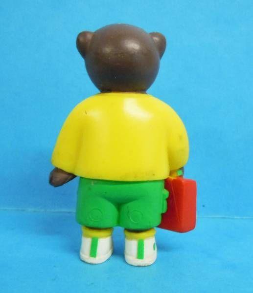 Les mondes de Petit Ours Brun - Bayard Presse PVC Figure - Petit Ours Brun schoolboy