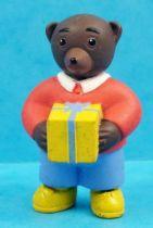 Les mondes de Petit Ours Brun - Figurine PVC Bayard Presse - Petit Ours Brun avec cadeau