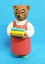 Les mondes de Petit Ours Brun - Figurine PVC Bayard Presse - L\'Institutrice