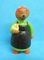 Les mondes de Petit Ours Brun - Figurine PVC Bayard Presse - La Fermière