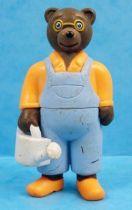 Les mondes de Petit Ours Brun - Figurine PVC Bayard Presse - Le Jardinier