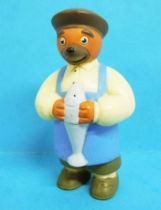 Les mondes de Petit Ours Brun - Figurine PVC Bayard Presse - Le Poissonnier
