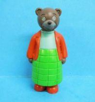 Les mondes de Petit Ours Brun - Figurine PVC Bayard Presse - Maman Ours Brun