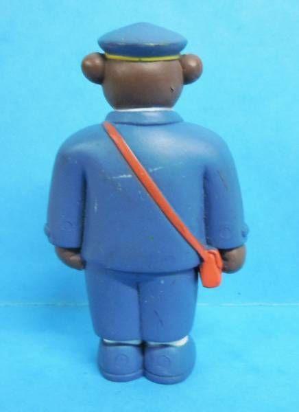 Les mondes de Petit Ours Brun - Figurine PVC Bayard Presse - Papa Ours Brun chef de gare