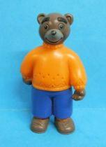 Les mondes de Petit Ours Brun - Figurine PVC Bayard Presse - Papa Ours Brun