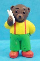 Les mondes de Petit Ours Brun - Figurine PVC Bayard Presse - Petit Ours Brun au téléphone