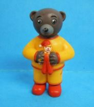Les mondes de Petit Ours Brun - Figurine PVC Bayard Presse - Petit Ours Brun en pyjama