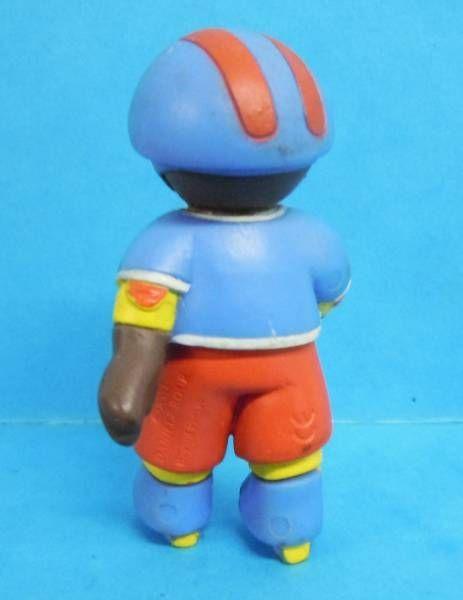 Les mondes de Petit Ours Brun - Figurine PVC Bayard Presse - Petit Ours Brun en roller