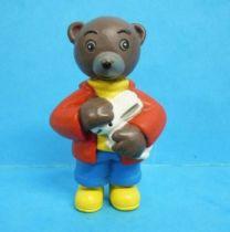 Les mondes de Petit Ours Brun - Figurine PVC Bayard Presse - Petit Ours Brun et le lapin blanc