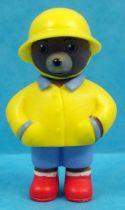 Les mondes de Petit Ours Brun - Figurine PVC Bayard Presse - Petit Ours Brun sous la pluie