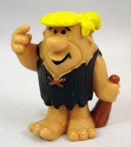 Les Pierrafeu - Bully 1983 - Barney Laroche - Figurine PVC