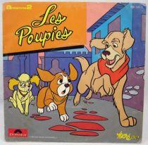 Les Poupies - Disque 45Tours - Bande Originale Série Tv - Disques Polydor 1985